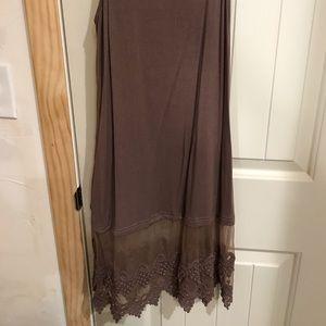 Tops - Brown tunic/ dress extender